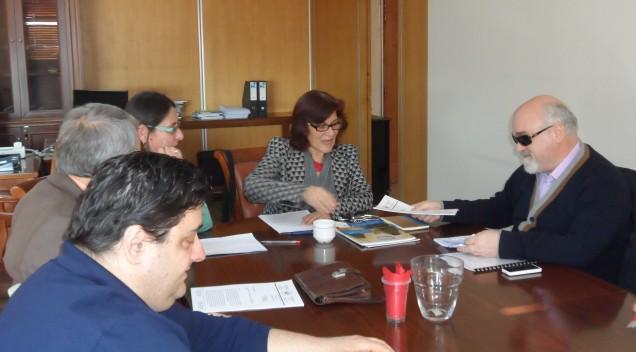 Στην Αναπλ. Υπουργό Κοινωνικής Αλληλεγγύης Θ. Φωτίου ο Αντώνης Χαροκόπος