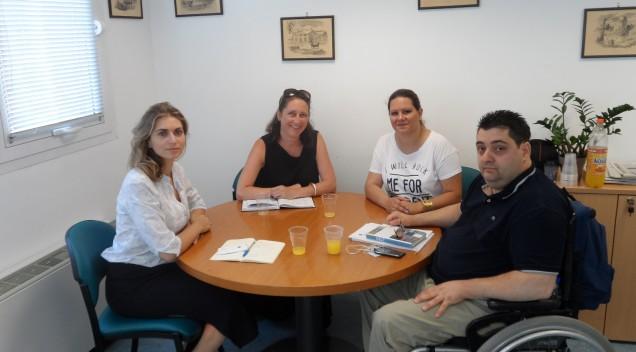 Συνάντηση του Αντ. Χαροκόπου με τη Διευθύντρια του Προγράμματος Μετανάστευσης της Καναδικής Πρεσβείας