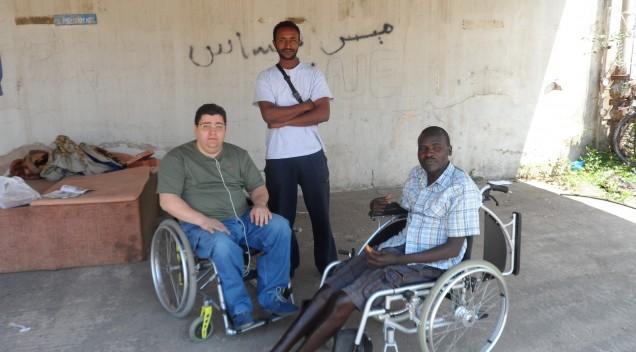Α. Χαροκόπος:  Κίνηση αλληλεγγύης σε Σουδανό πρόσφυγα