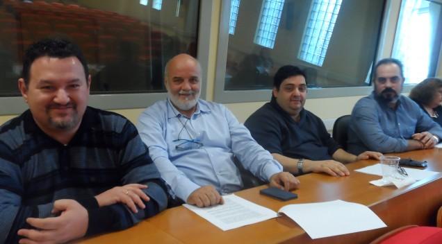 Συνάντηση στα γραφεία της Εθνικής Συνομοσπονδίας Ατόμων με Αναπηρία (Ε.Σ.Α.μεΑ)