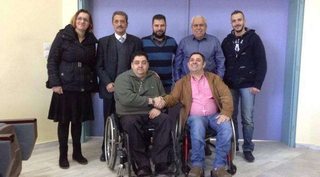 Κοπή Βασιλόπιτας Σωματείου Κωφών-Βαρήκοων Νοτιοδυτικής Ελλάδας