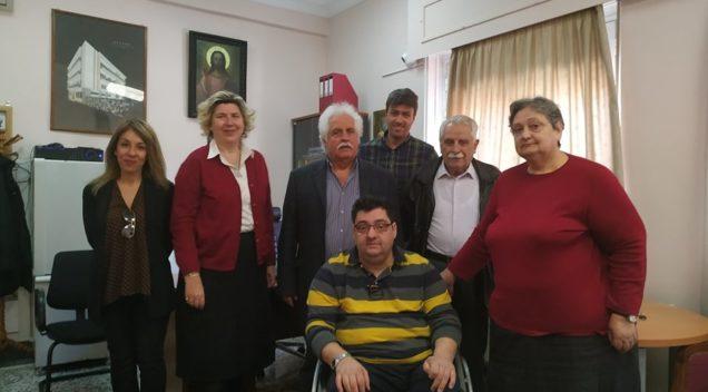 """Συνάντηση με Διοικητικό Συμβούλιο Ασύλου Ανιάτων Πατρών """"Η Αγία Ευφροσύνη"""""""