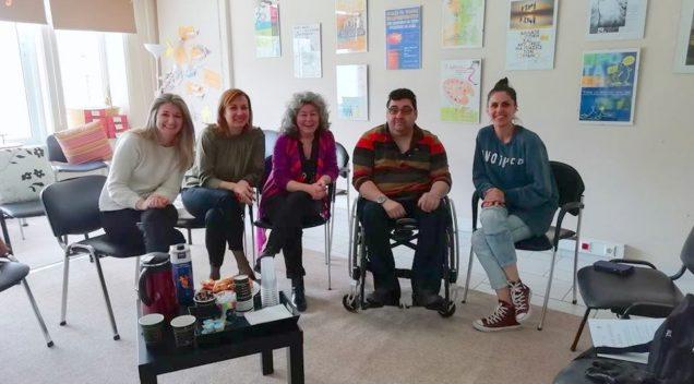 """Συνάντηση Αντώνη Χαροκόπου με το επιστημονικό προσωπικό του Κέντρου Πρόληψης Αχαΐας """"Καλλίπολις"""""""